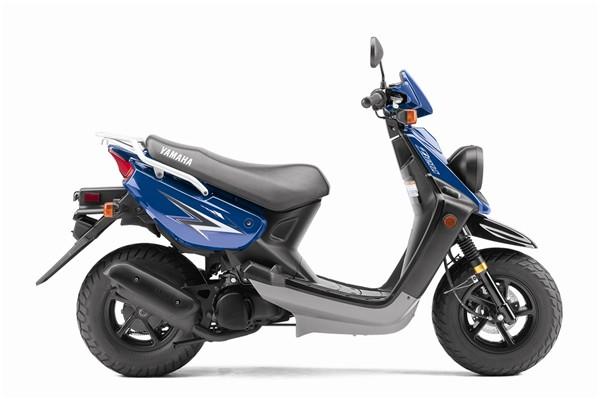 The 2011 Yamaha Zuma scooter.